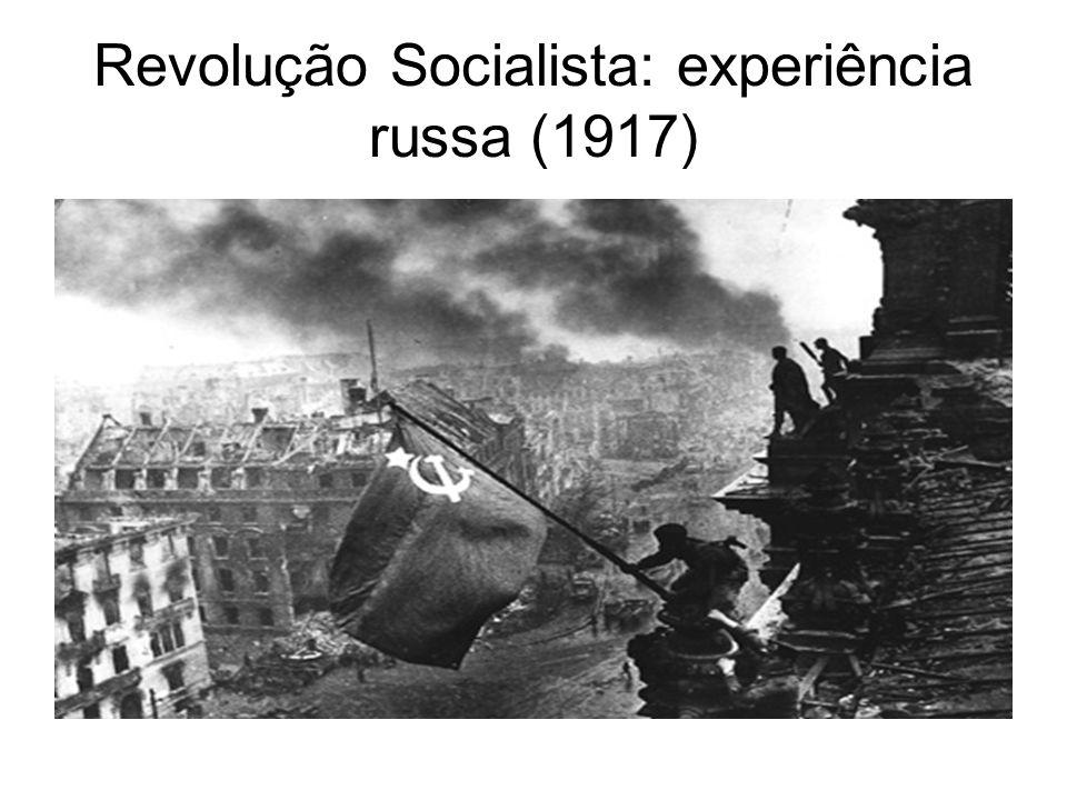 Revolução Socialista: experiência russa (1917)
