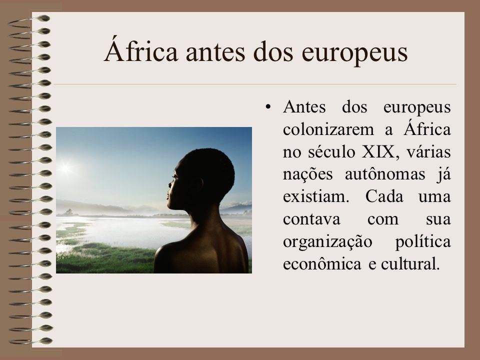 África antes dos europeus