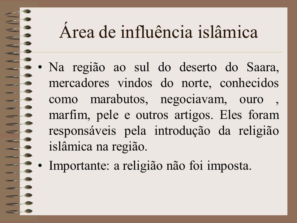 Área de influência islâmica