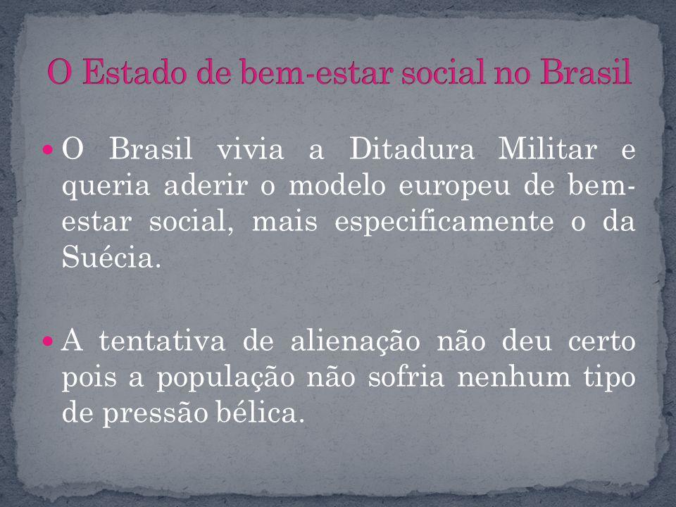 O Estado de bem-estar social no Brasil