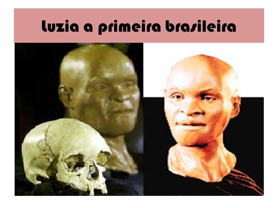 Luzia a primeira brasileira
