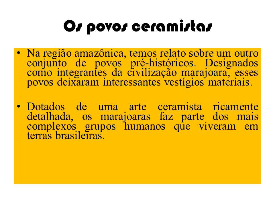 Os povos ceramistas