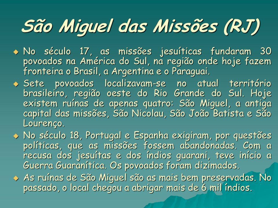 São Miguel das Missões (RJ)