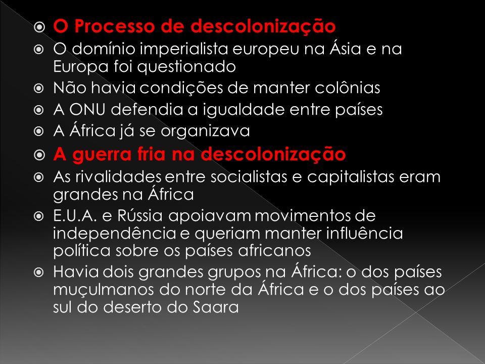 O Processo de descolonização
