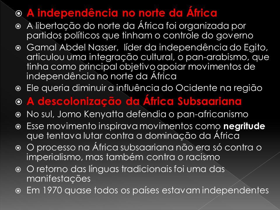 A independência no norte da África