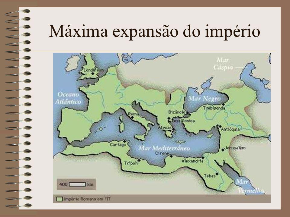Máxima expansão do império