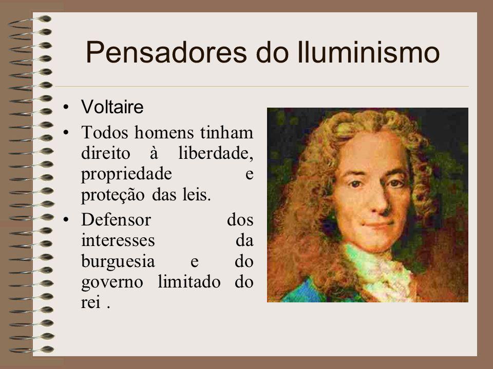 Pensadores do Iluminismo