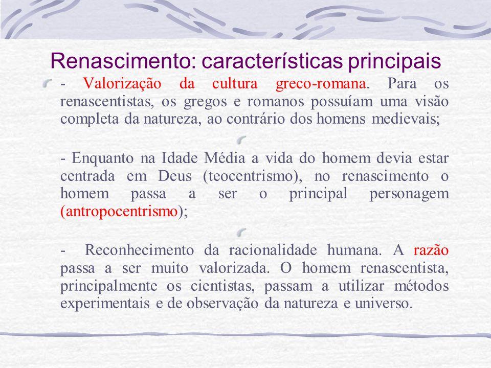 Renascimento: características principais