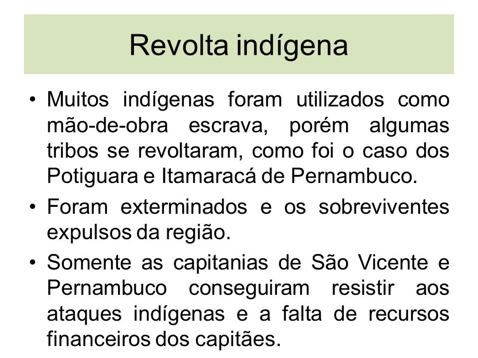 Revolta indígena