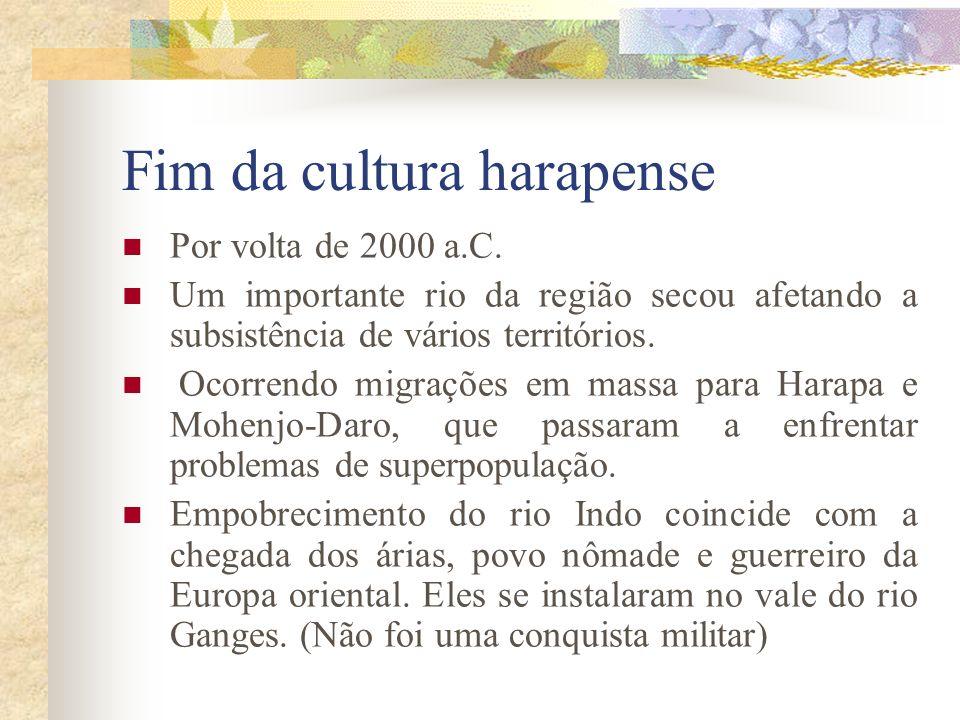 Fim da cultura harapense