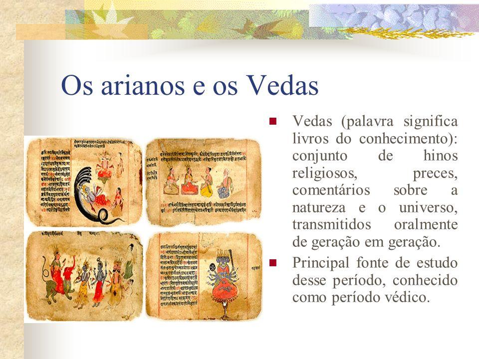 Os arianos e os Vedas
