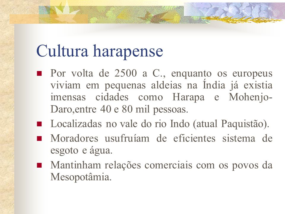 Cultura harapense