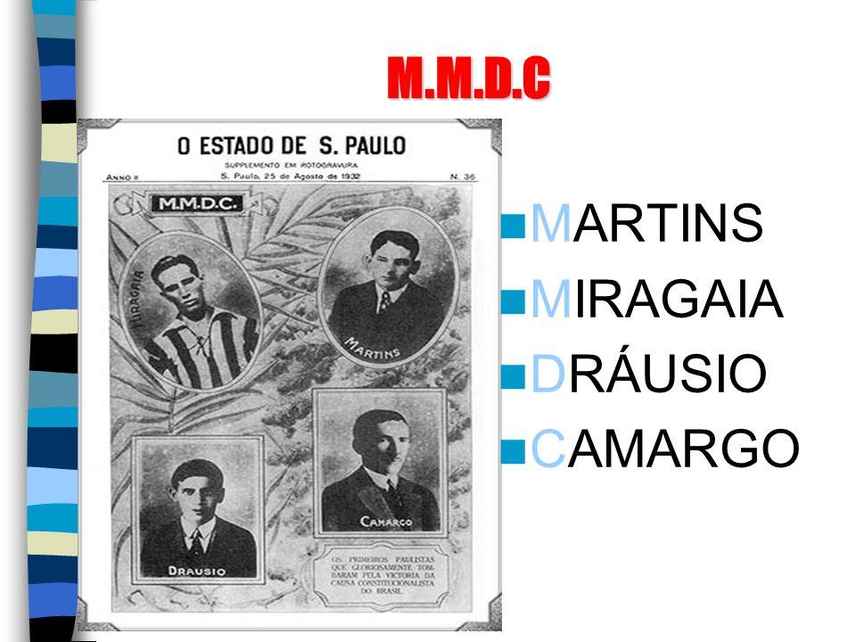 M.M.D.C MARTINS MIRAGAIA DRÁUSIO CAMARGO