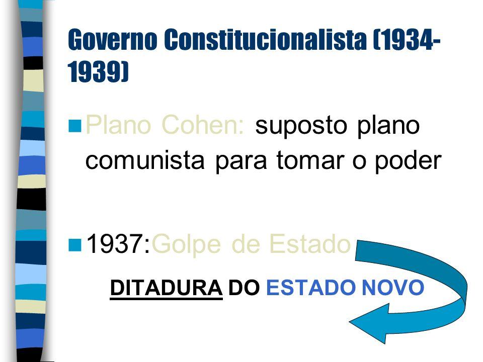 Governo Constitucionalista (1934-1939)