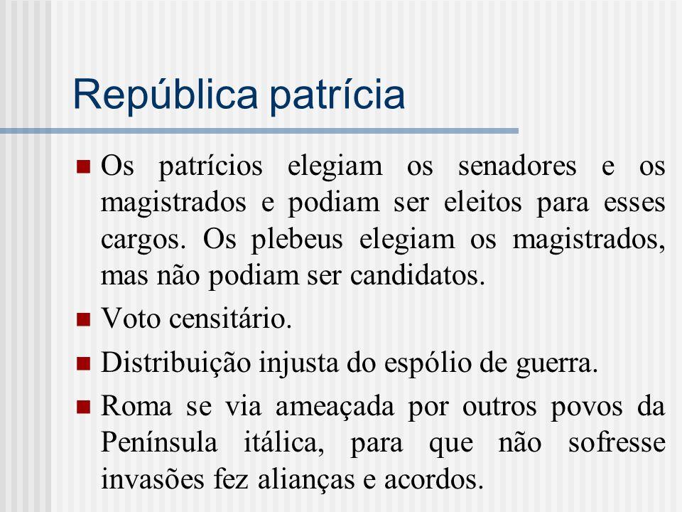 República patrícia
