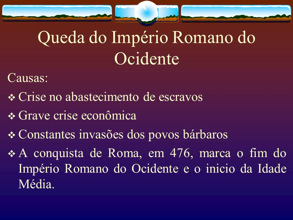 Queda do Império Romano do Ocidente