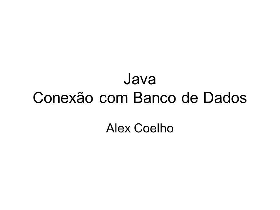 Java Conexão com Banco de Dados