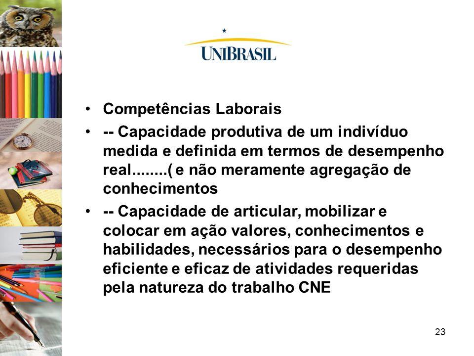 Competências Laborais