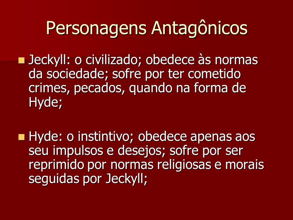 Personagens Antagônicos