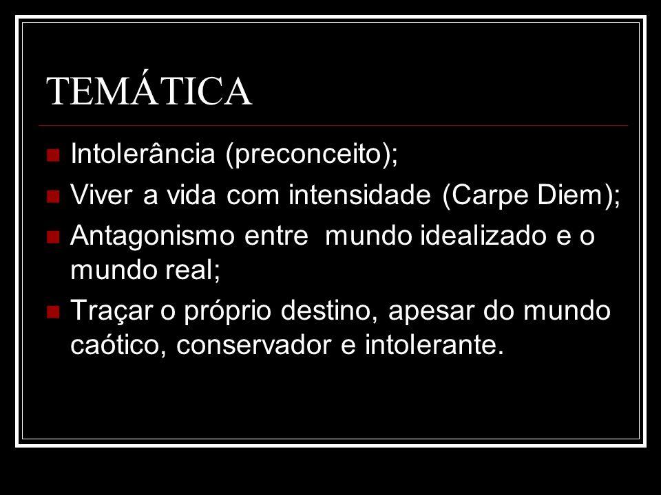 TEMÁTICA Intolerância (preconceito);