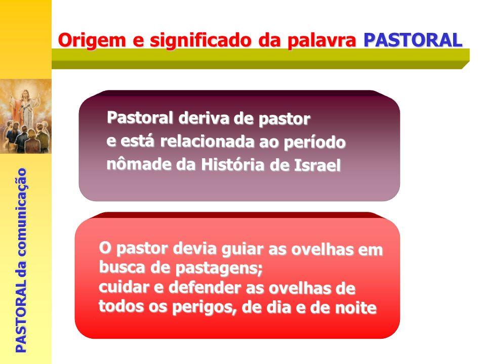 Origem e significado da palavra PASTORAL