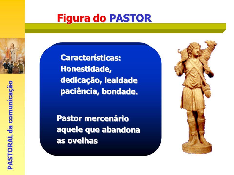 Figura do PASTOR Características: