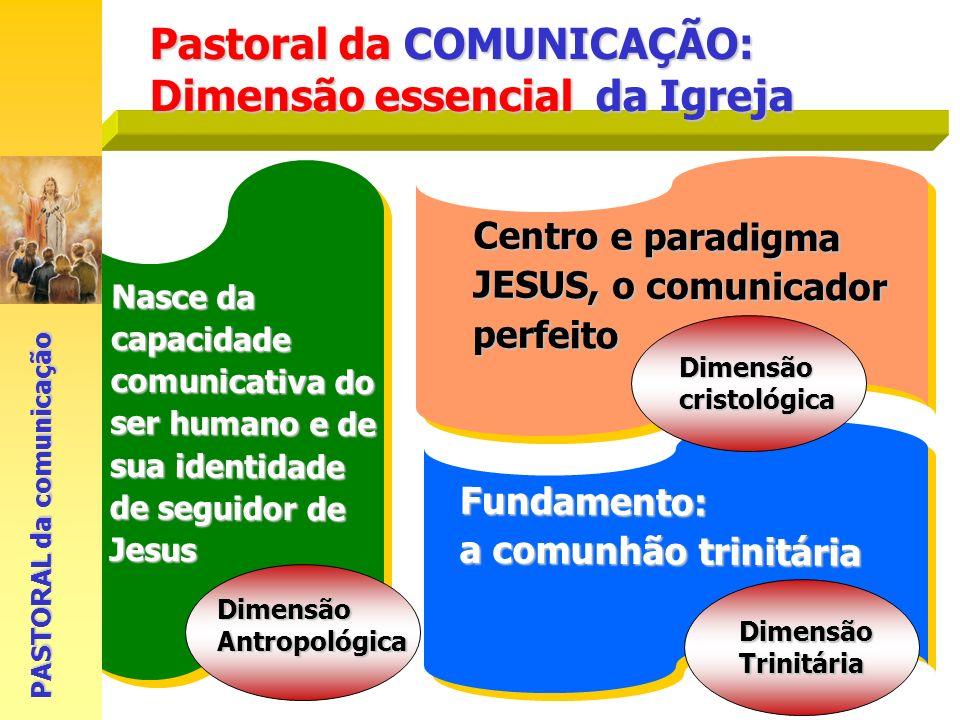 Pastoral da COMUNICAÇÃO: Dimensão essencial da Igreja