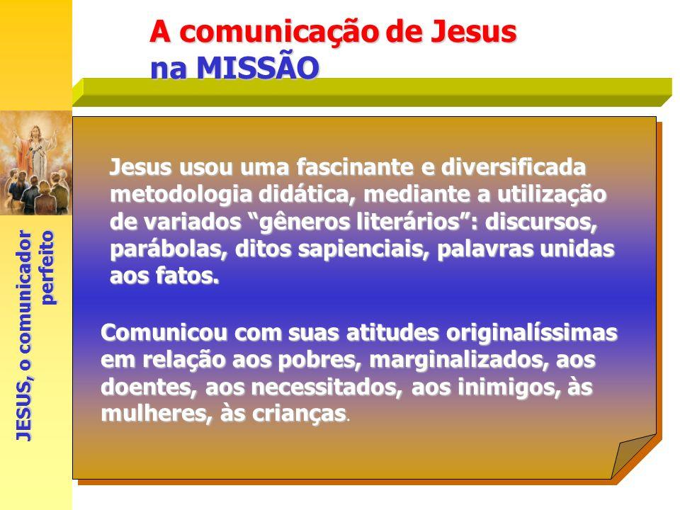 A comunicação de Jesus na MISSÃO