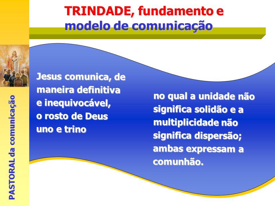 TRINDADE, fundamento e modelo de comunicação