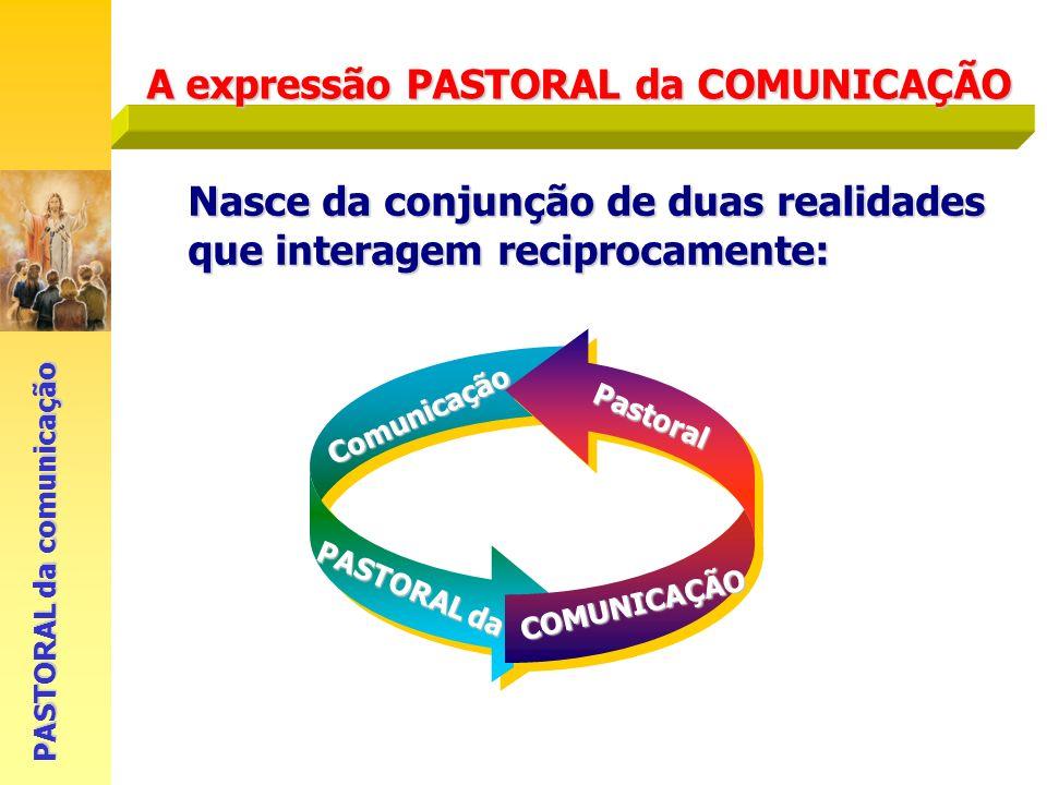 A expressão PASTORAL da COMUNICAÇÃO