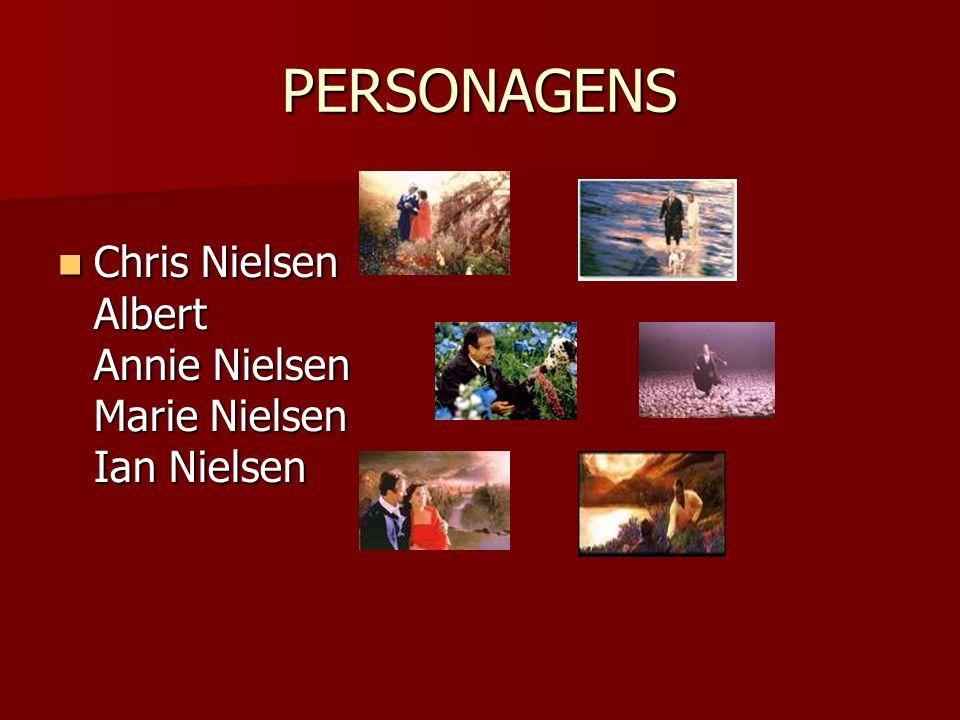 PERSONAGENS Chris Nielsen Albert Annie Nielsen Marie Nielsen Ian Nielsen