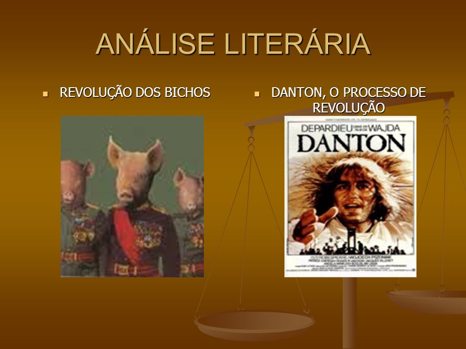DANTON, O PROCESSO DE REVOLUÇÃO