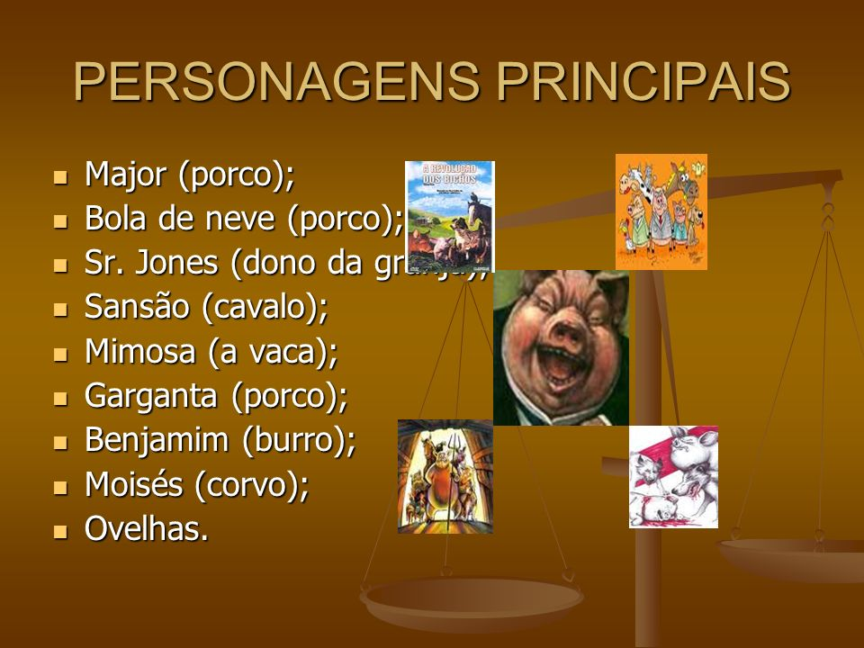 PERSONAGENS PRINCIPAIS