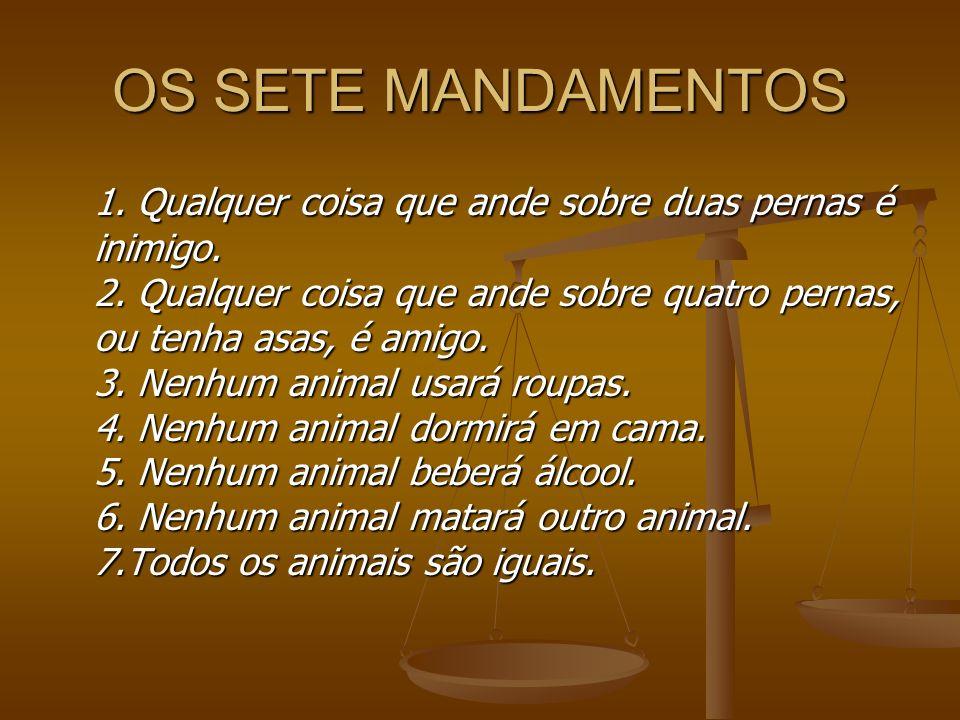 OS SETE MANDAMENTOS