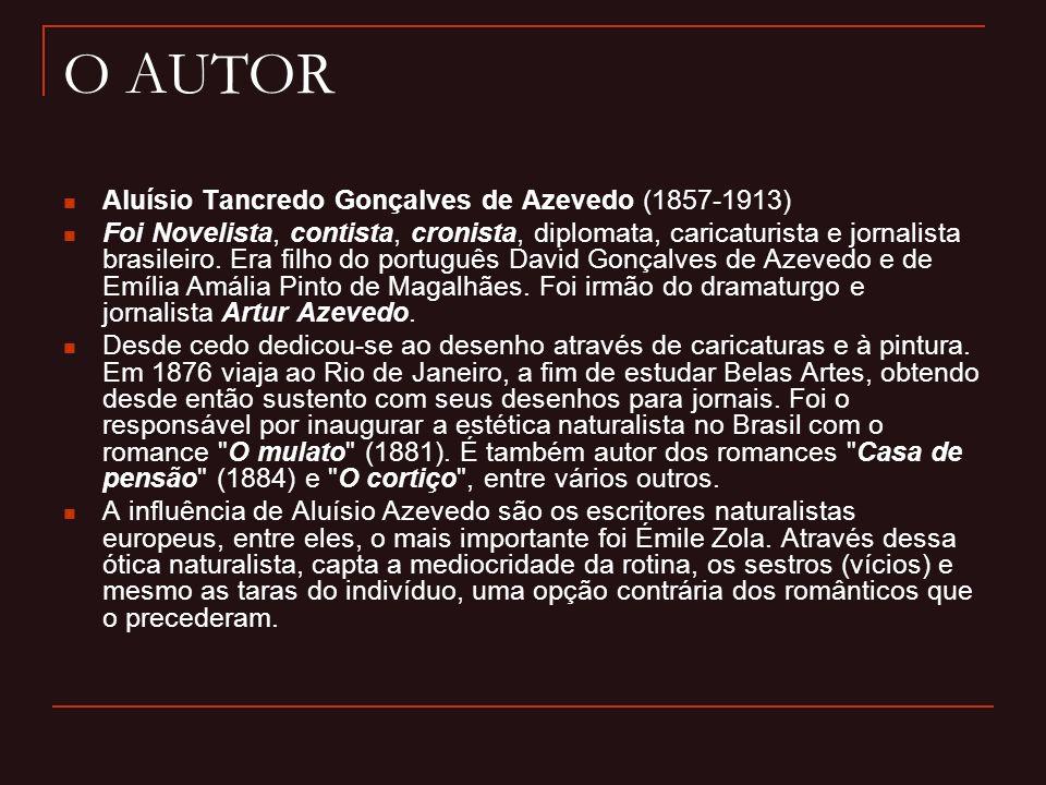O AUTOR Aluísio Tancredo Gonçalves de Azevedo (1857-1913)