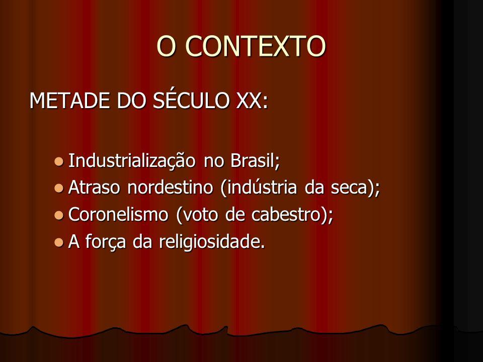 O CONTEXTO METADE DO SÉCULO XX: Industrialização no Brasil;