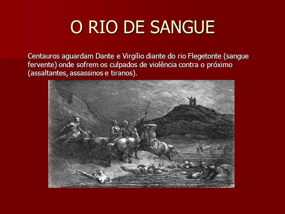 O RIO DE SANGUE