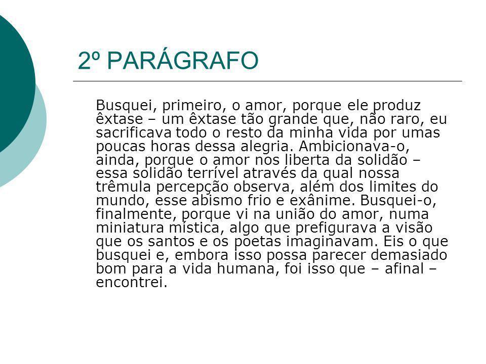 2º PARÁGRAFO