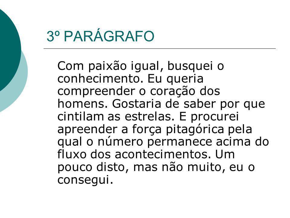 3º PARÁGRAFO