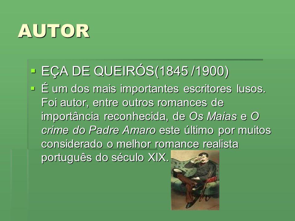 AUTOR EÇA DE QUEIRÓS(1845 /1900)