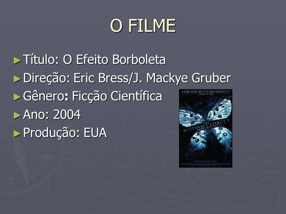 O FILME Título: O Efeito Borboleta