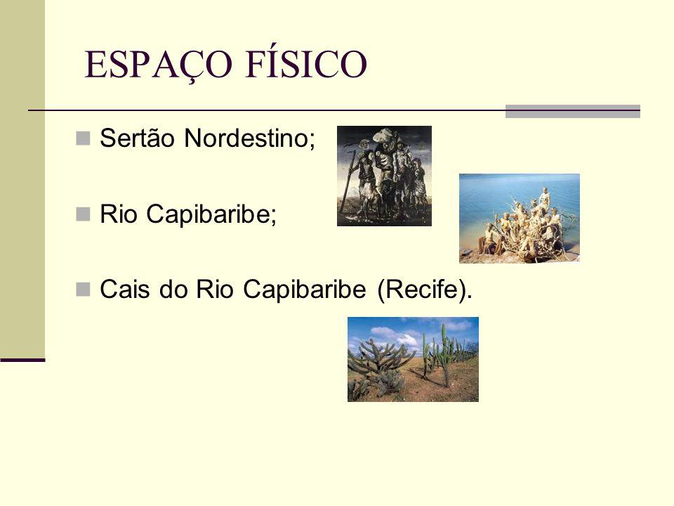 ESPAÇO FÍSICO Sertão Nordestino; Rio Capibaribe;