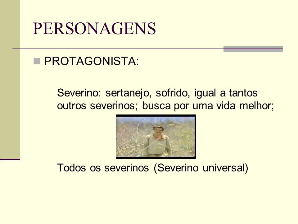 PERSONAGENS PROTAGONISTA: