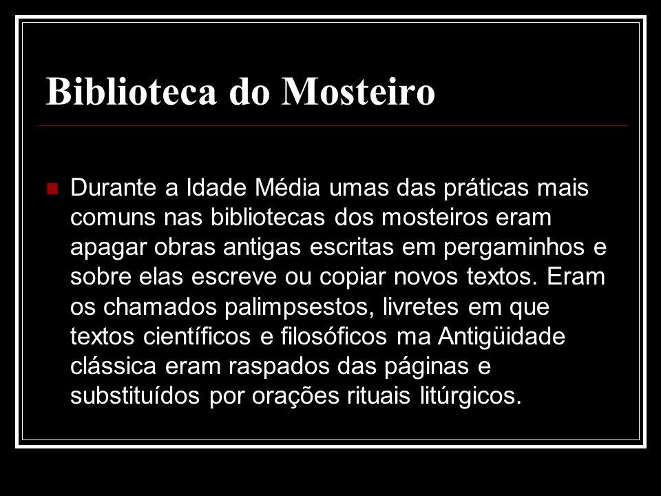 Biblioteca do Mosteiro