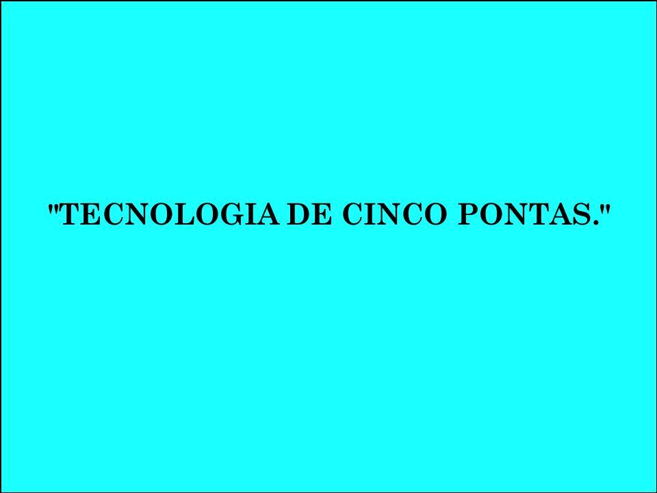 TECNOLOGIA DE CINCO PONTAS.
