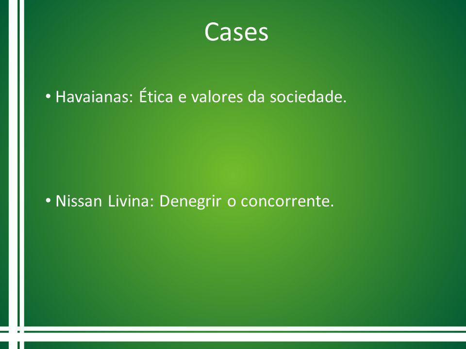 Cases Havaianas: Ética e valores da sociedade.