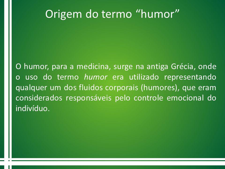 Origem do termo humor