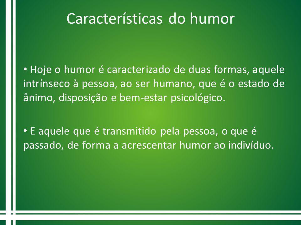 Características do humor