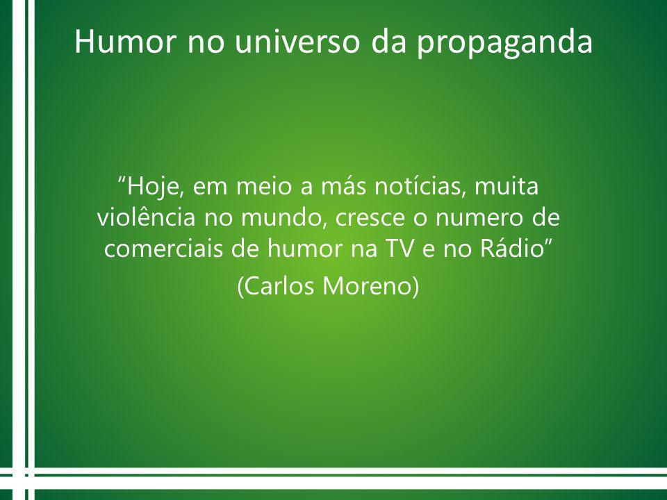 Humor no universo da propaganda