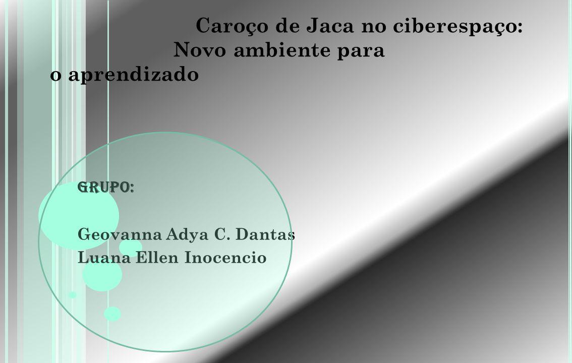 Caroço de Jaca no ciberespaço: Novo ambiente para o aprendizado